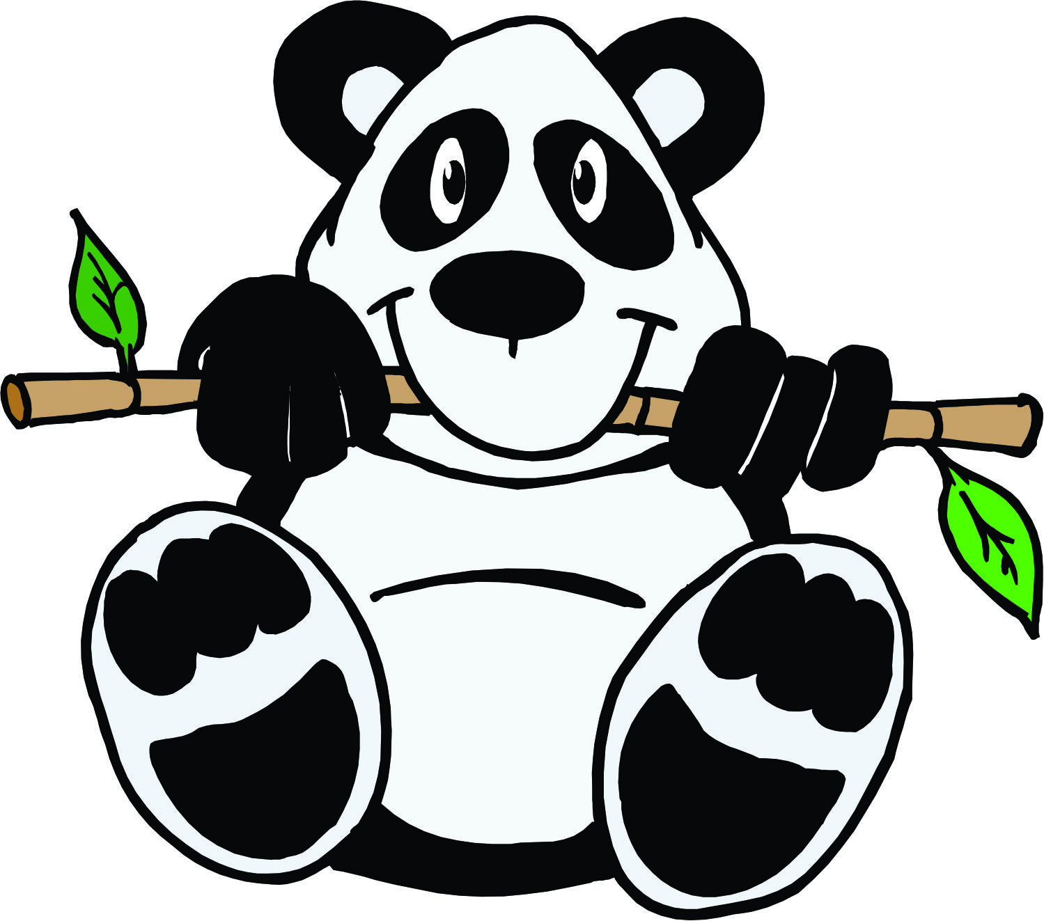 Pictures Of Cartoon Panda Bears - ClipArt Best