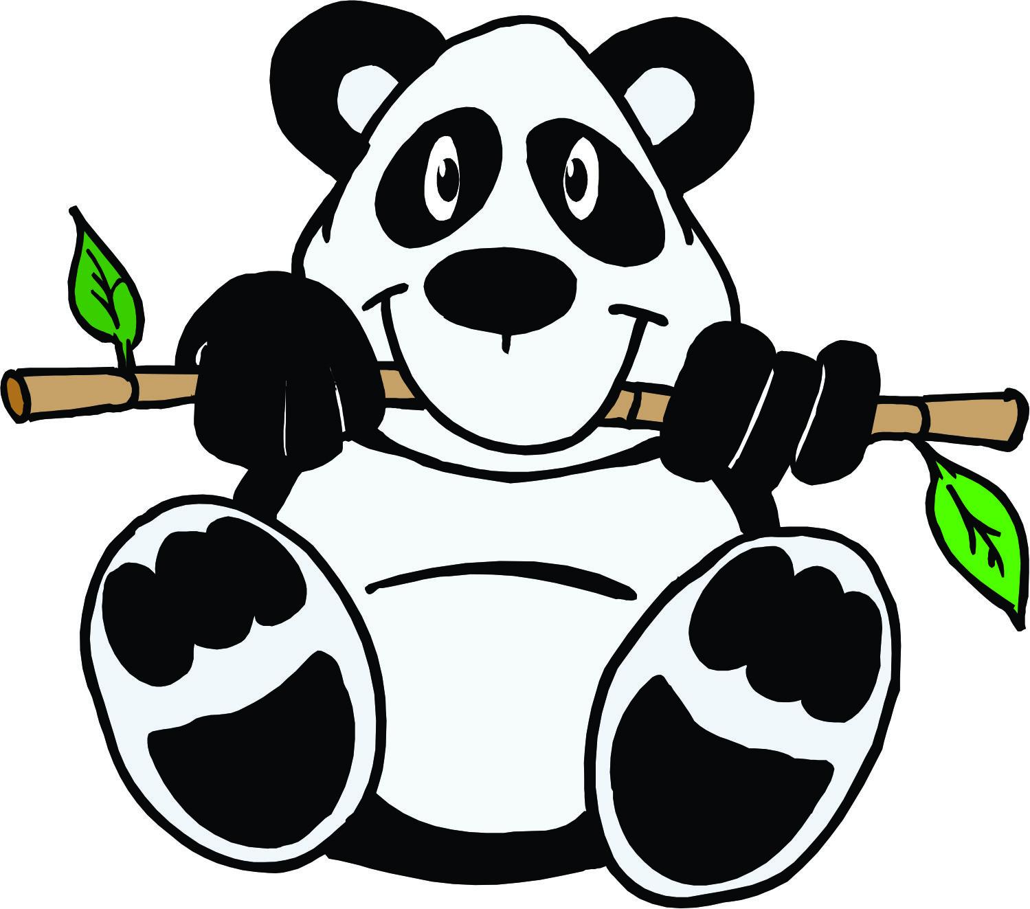Cartoon Drawings Of Pandas