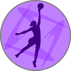 Netball Lilac clip art - vector clip art online, royalty free ...
