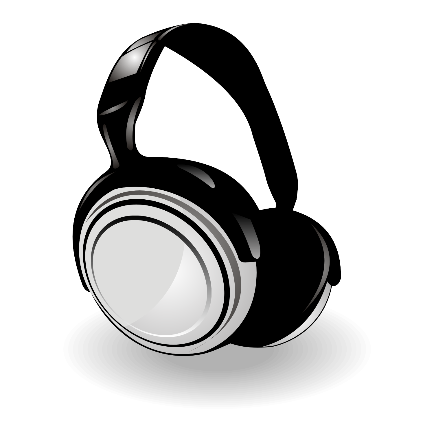 25 vector headphone free cliparts that you can download to you ...