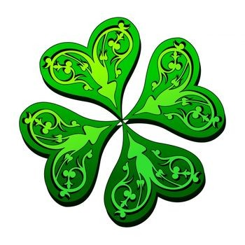 Four Leaf Clover Art - ClipArt Best