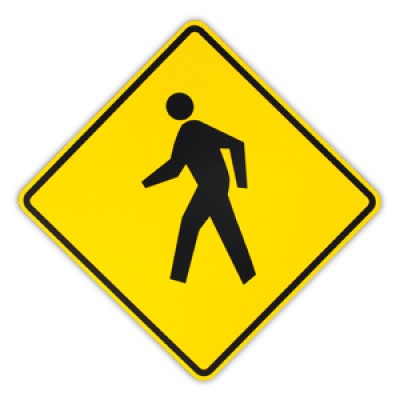 Pedestrian Symbol - ClipArt Best