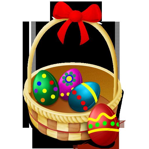 Easter Basket Clipart : Easter basket clip art eggs clipart best