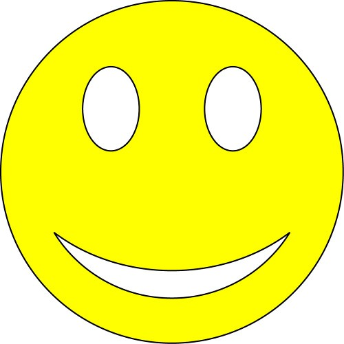 Yellow Smiley Face - ClipArt Best