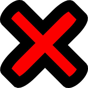 Red cross transparent background clipart best for Transparent top design