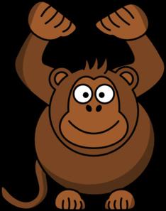 Gambar Smile Monyet Kartun - ClipArt Best