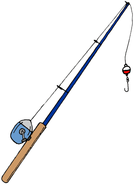 Fishing pole vector clipart best for Best fishing pole for beginners
