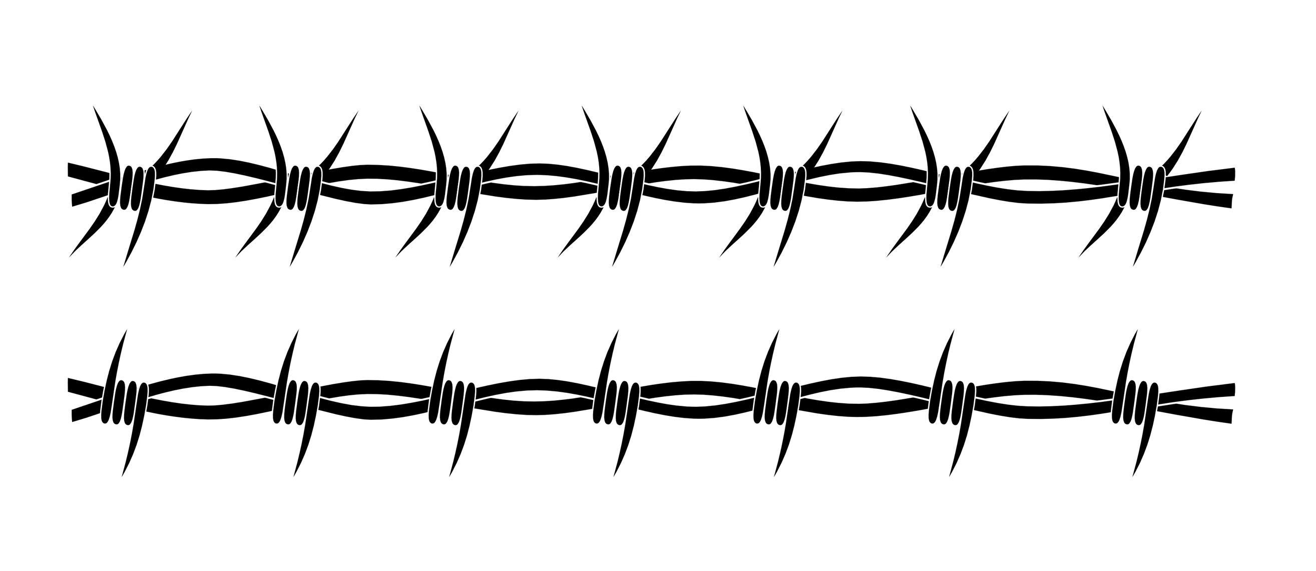 barbed wire drawing - photo #6