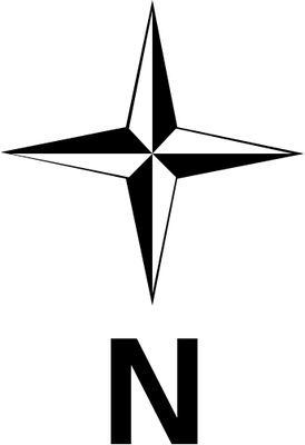 North Direction Symbol