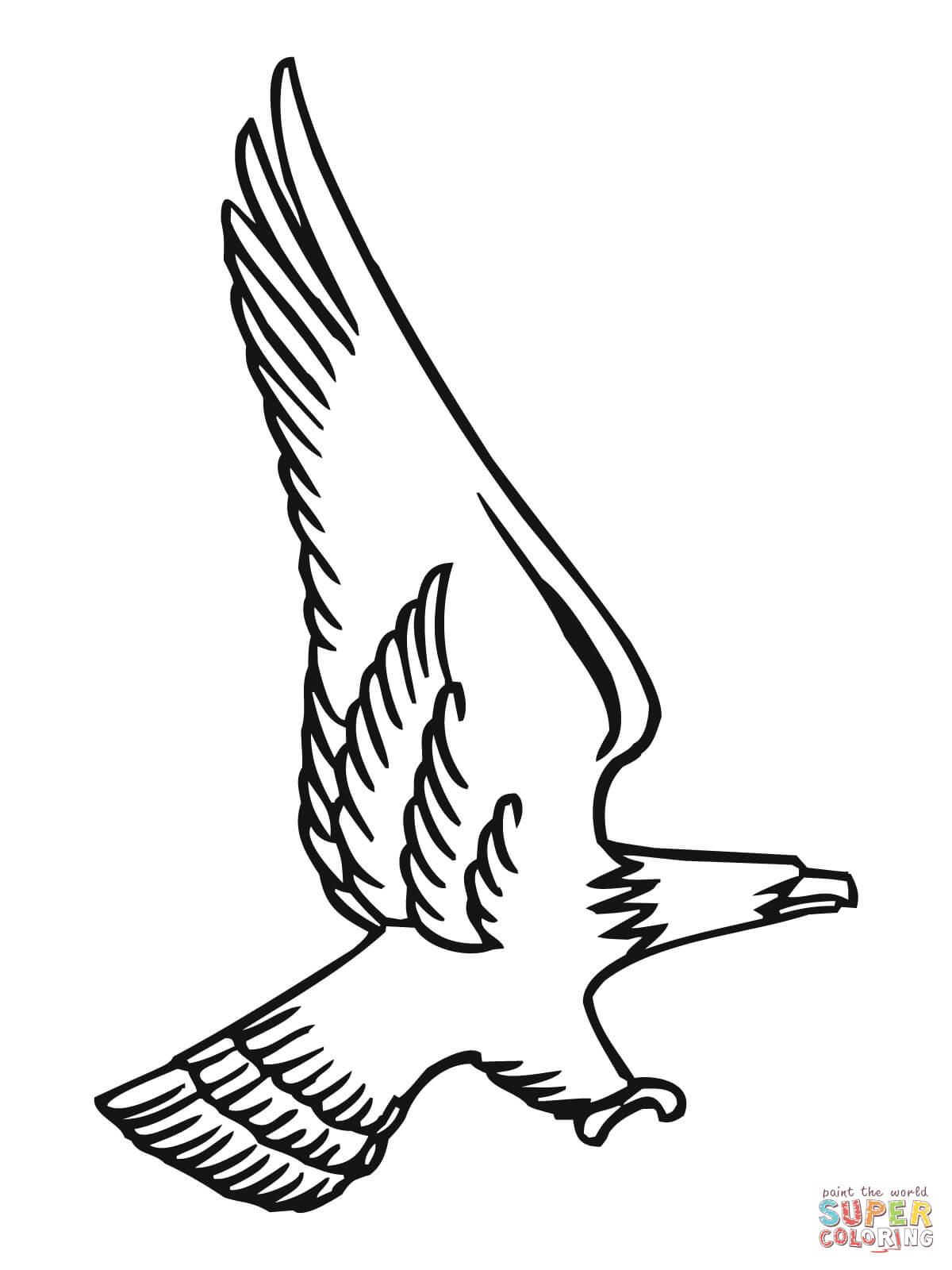 bald eagle outline clipart best