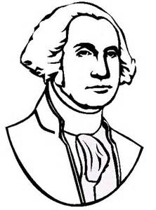George Washington Face Coloring Page Coloring Pages ...