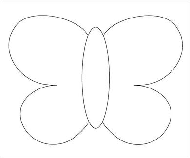 Canny image pertaining to free printable butterfly template
