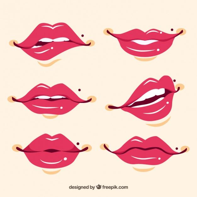 lips vector clipart best