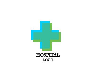 Hospital room background design Vector  Free Download