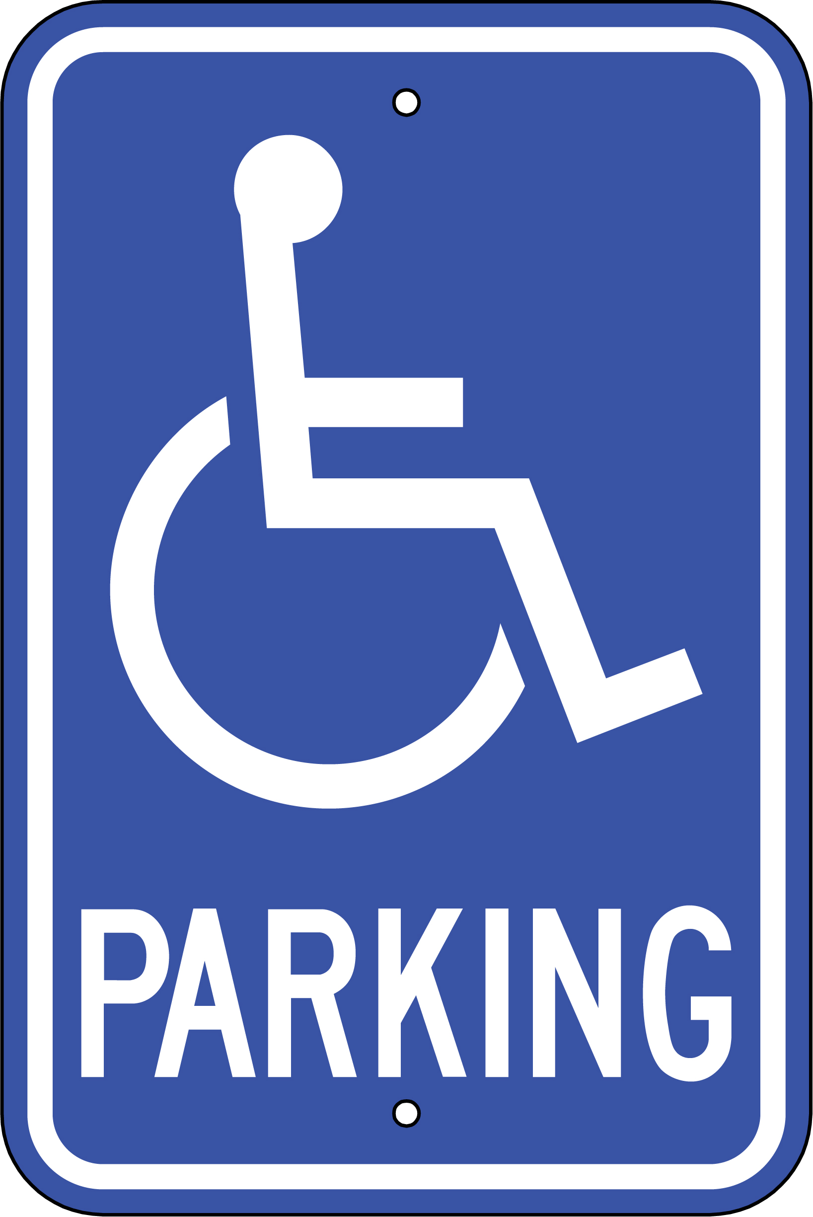 Handicap Parking Sign - ClipArt Best