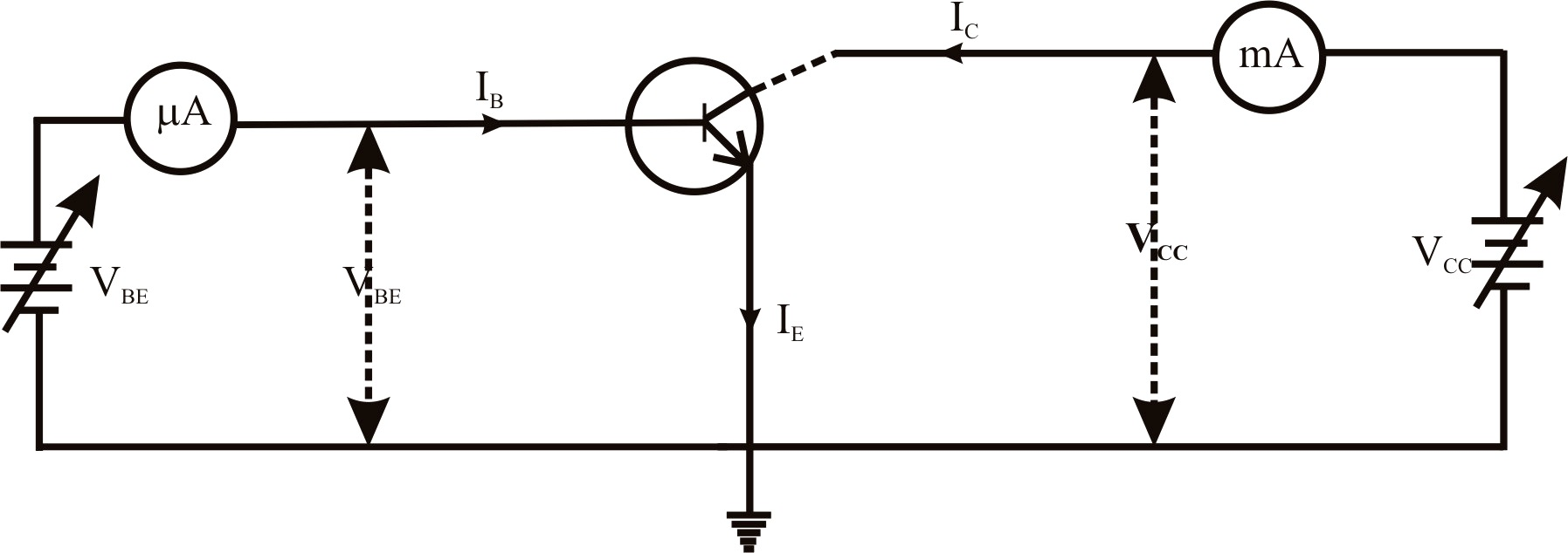 schematic symbol of pnp transistor