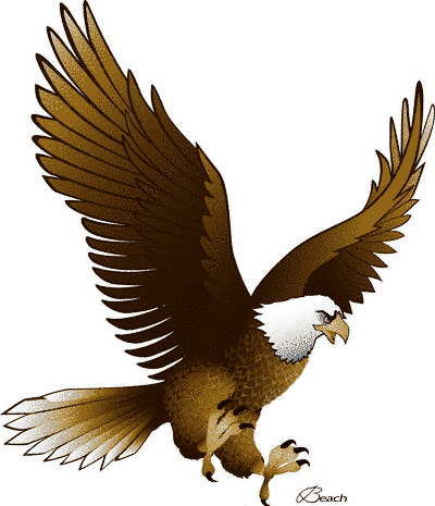 Golden Eagle Clip Art