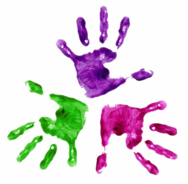 Baby Handprint Clipart - ClipArt Best