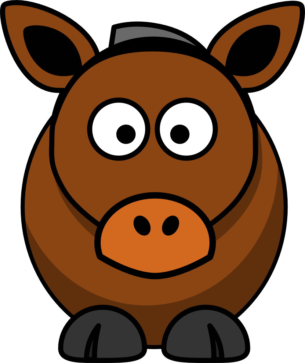 Horse Cartoon - ClipArt Best