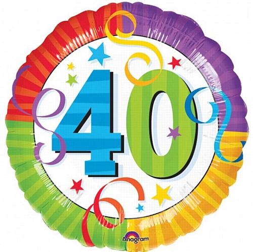 40th Birthday Clip Art - ClipArt Best