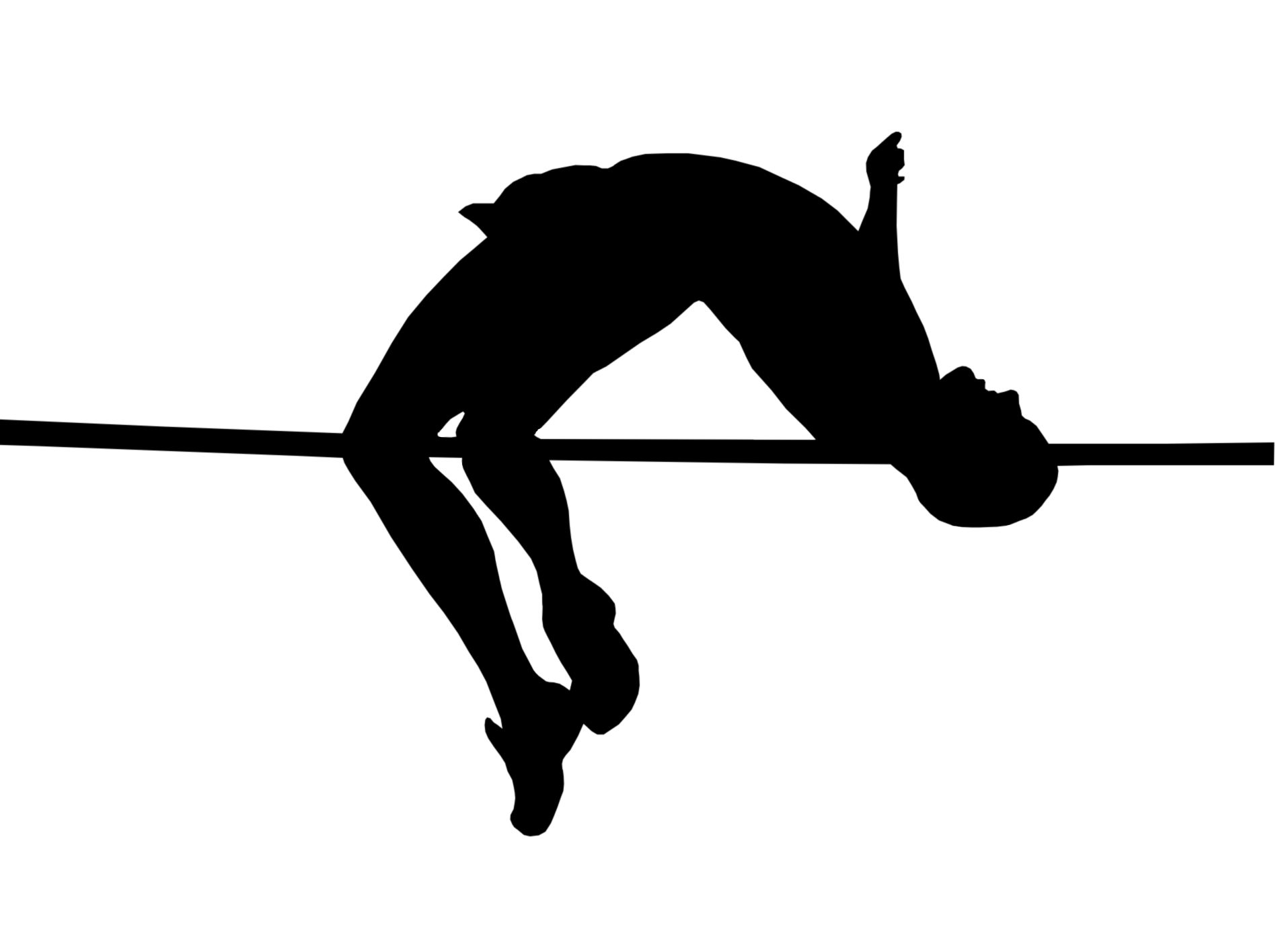 High Jump Clipart