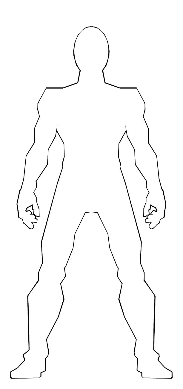 Body Templates For Drawing - ClipArt Best