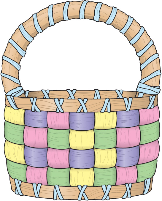 clip art for easter baskets - photo #5