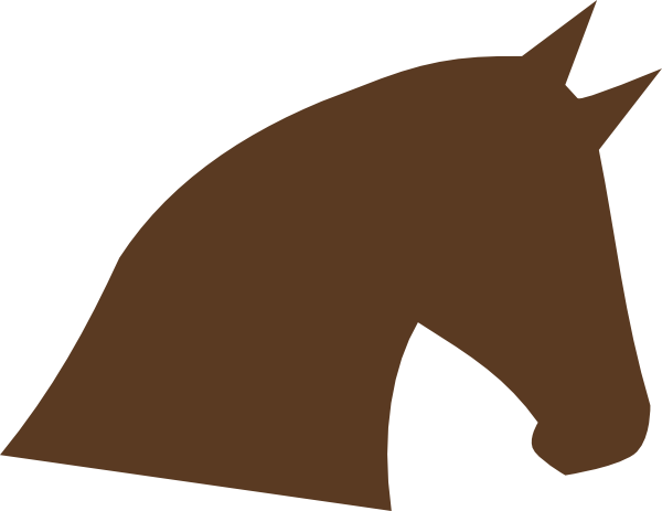 Free Printable Horse Head Stencils - ClipArt Best