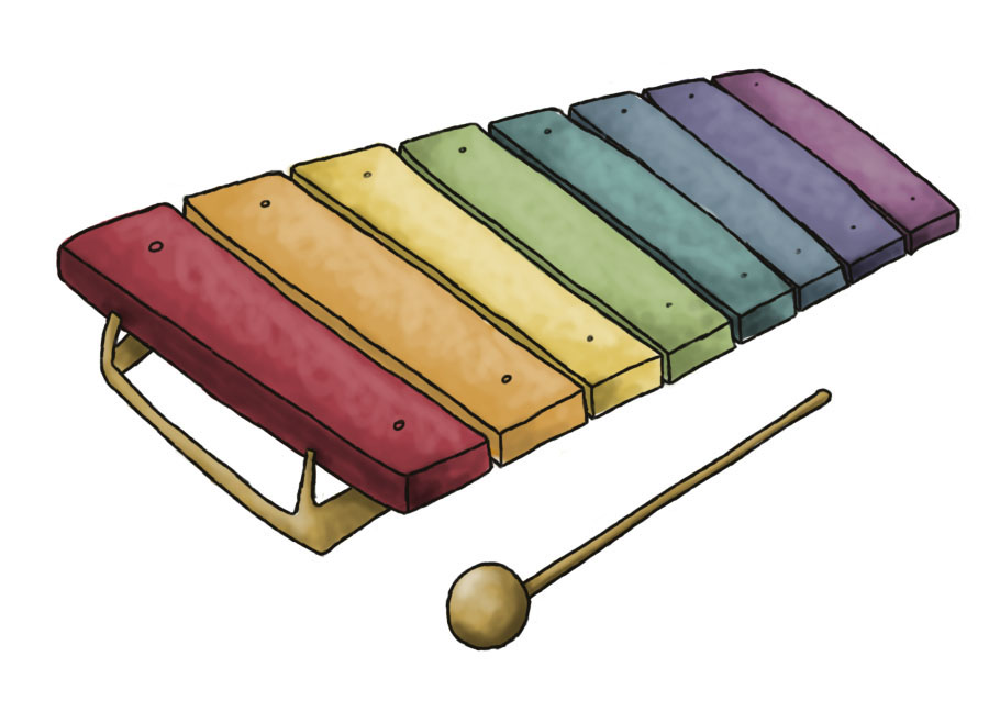 clipart xylophone - photo #12
