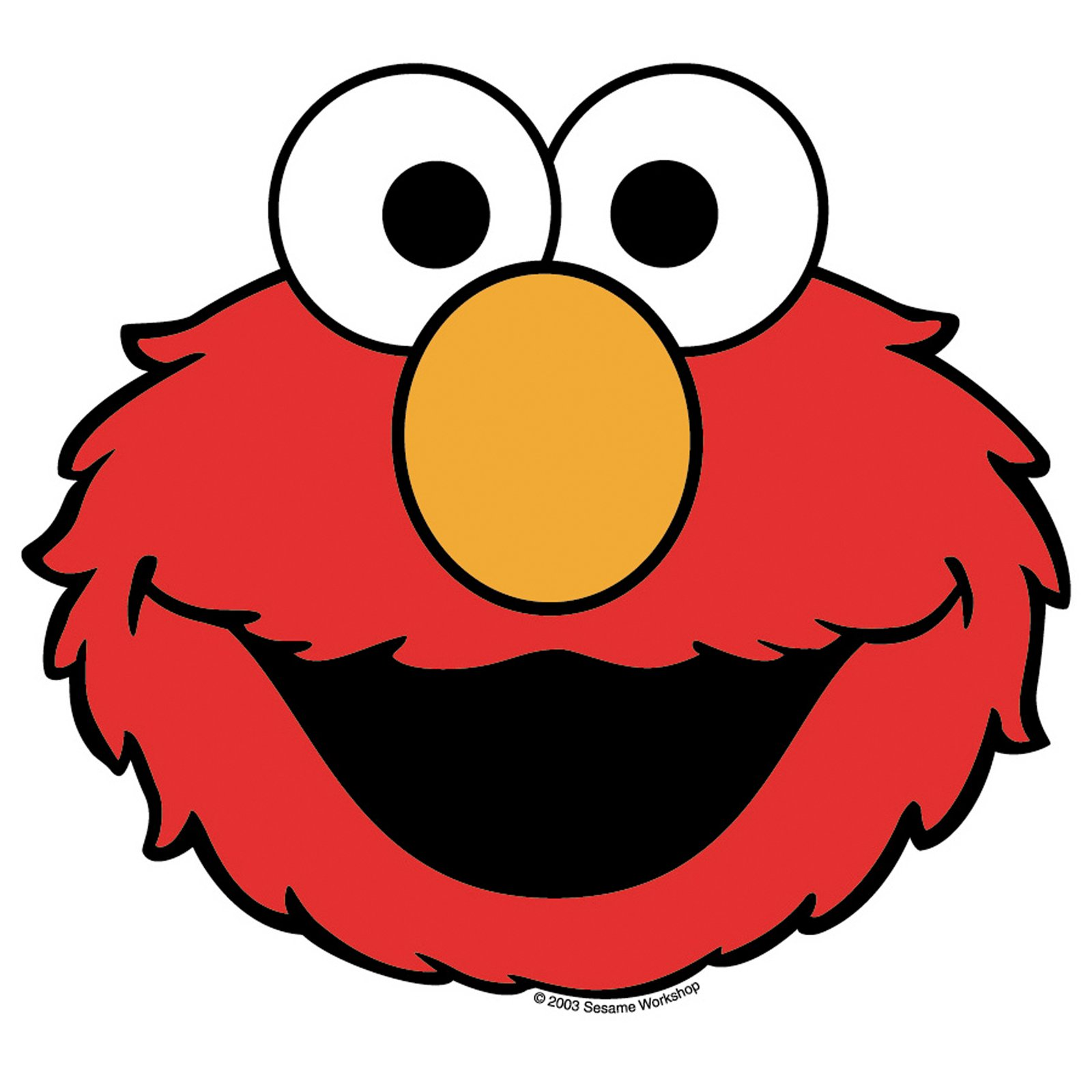Free printable elmo face template clipart best for Elmo pumpkin template
