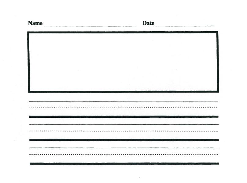 Kindergarten Blank Writing Worksheets Versaldobip – Blank Handwriting Worksheets for Kindergarten