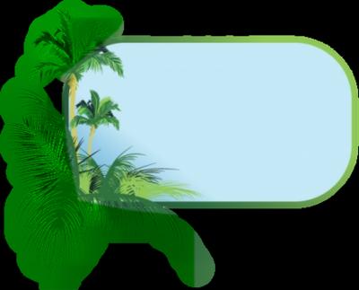 Palm Tree Border - ClipArt Best