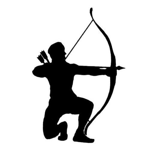 ... For > Hunting Bow And Arrow Silhouette - ClipArt Best - ClipArt Best