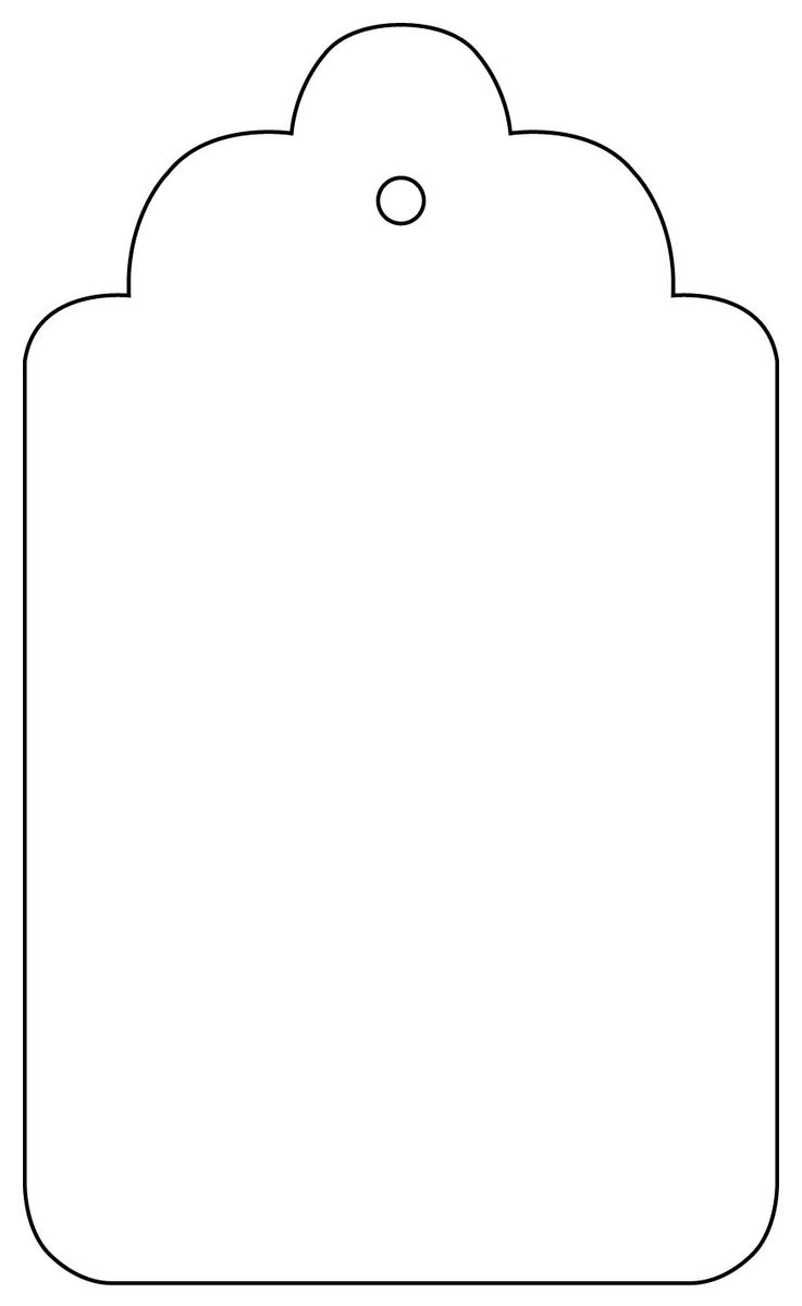 32 tag outline template . Free cliparts that you can download to you ...