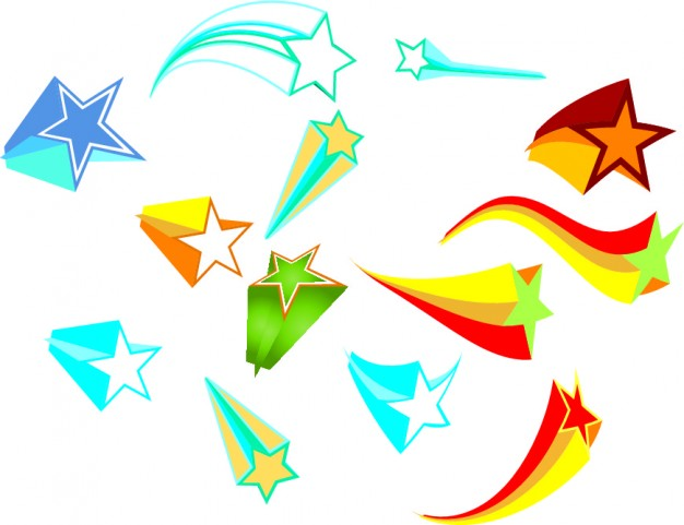 Free Pictures Of Falling Stars - ClipArt Best