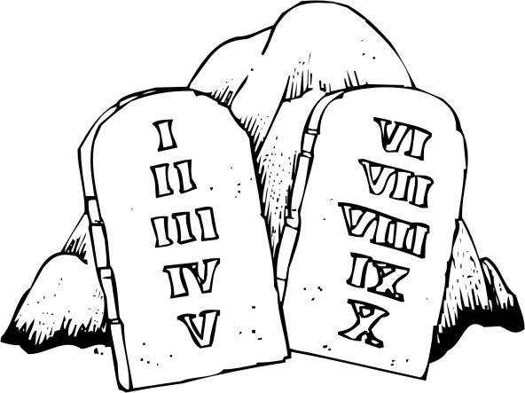 Ten Commandments Clip Art Pictures To Pin On Pinterest