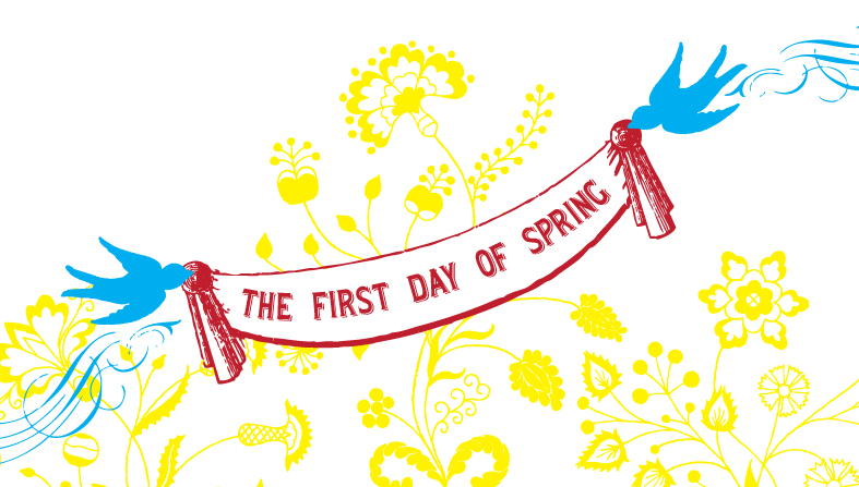 First Day Of Spring Clip Art - ClipArt Best