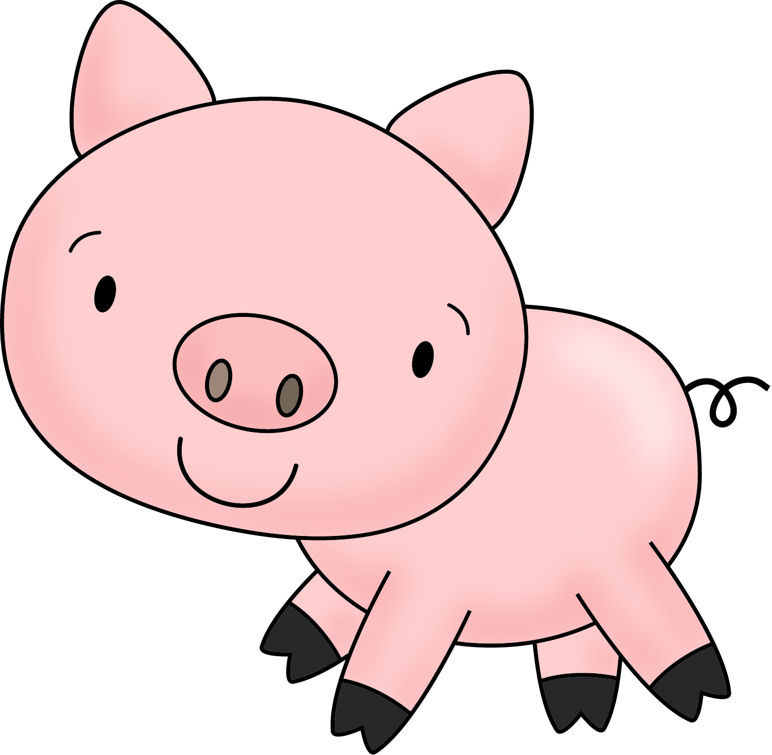 Cute Pigs Cartoon - ClipArt Best