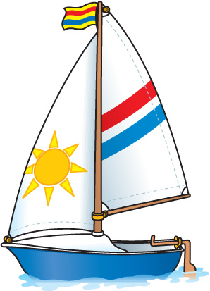 Free Sailboat Pictures For Kids, Download Free Clip Art ...  Beach With Sailboat Clipart Cartoons