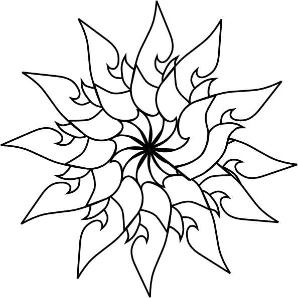 Lotus Flower Line Drawing Vector Free Download : Lotus flower drawing outline clipart best