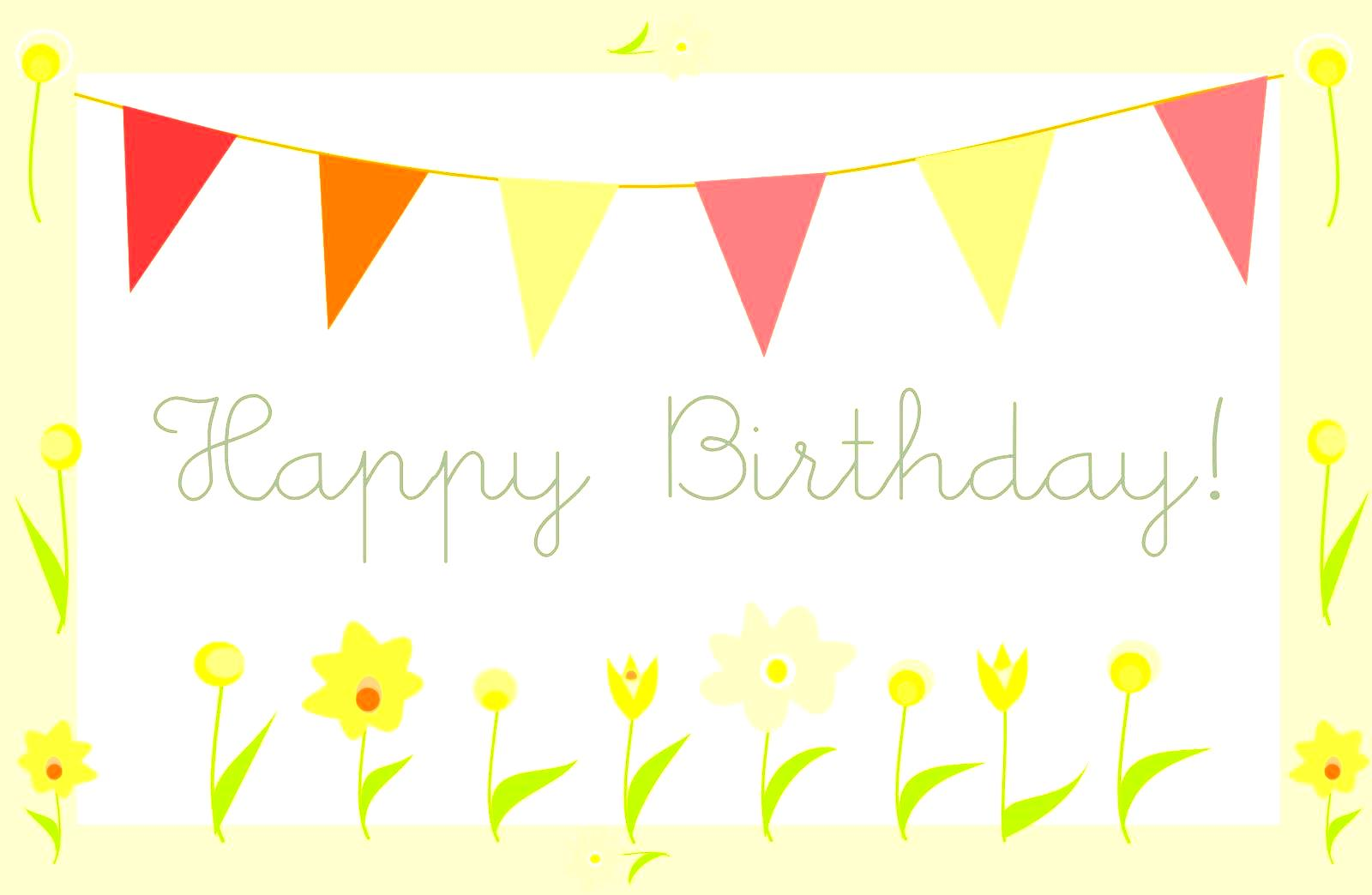 Free Birthday Card Downloads unique – Happy Birthday Card Template Free Download