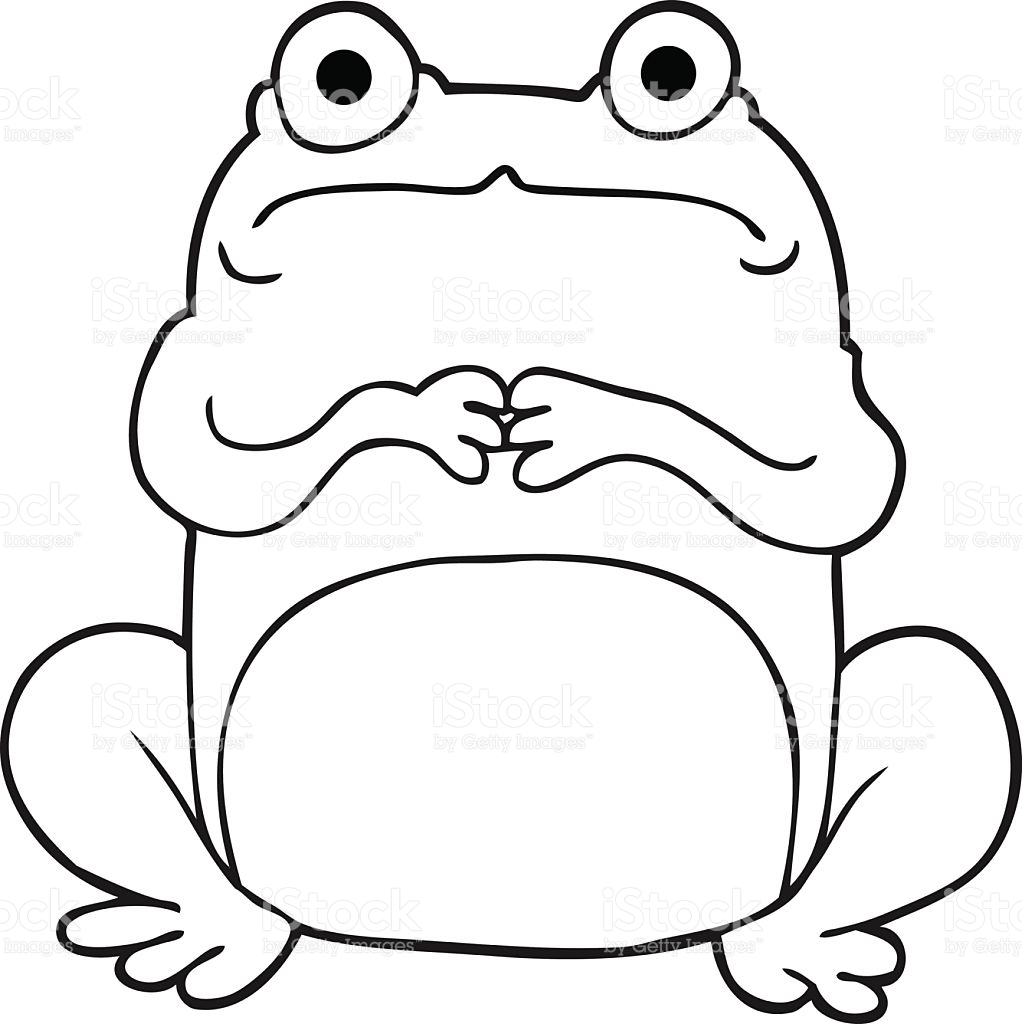 black and white cartoon frogs clipart best
