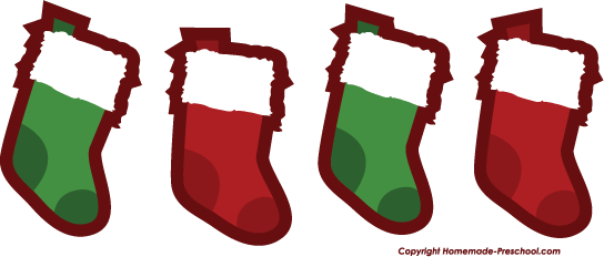 Christmas Stockings Clip Art - ClipArt Best