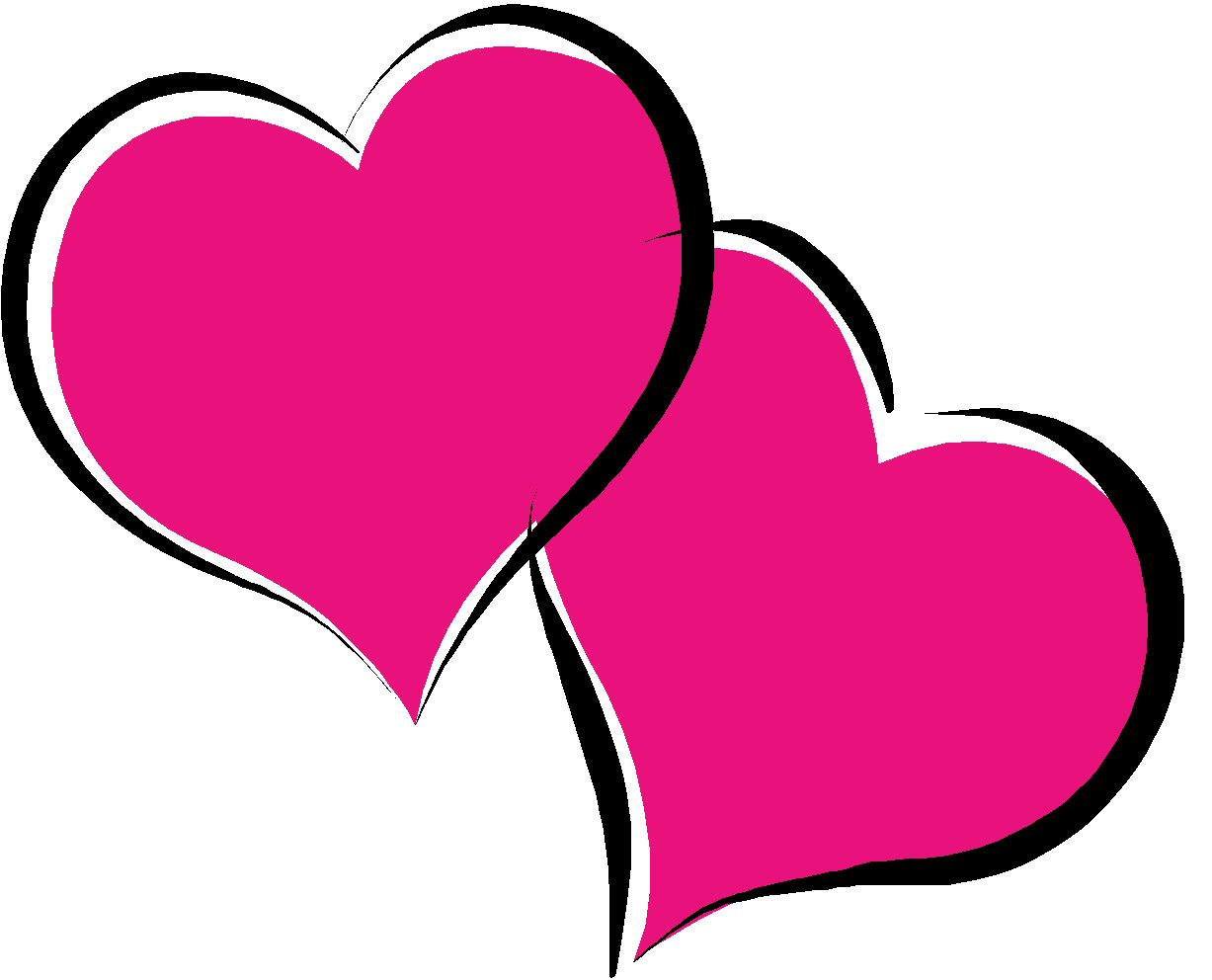Double Hearts - ClipArt Best