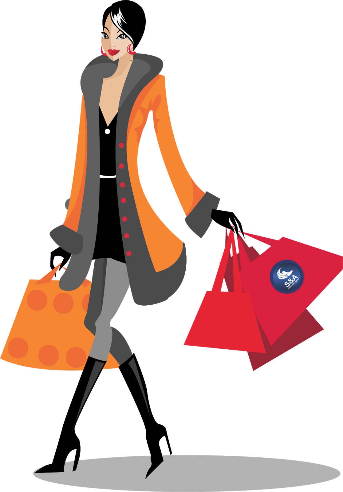 29 shopping girl images png . Free cliparts that you can download to ...