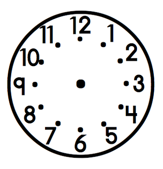 Clock Clipart Black And White - ClipArt Best