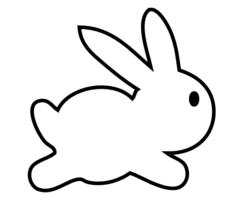 How To Draw A Easter Bunny Face - ClipArt Best
