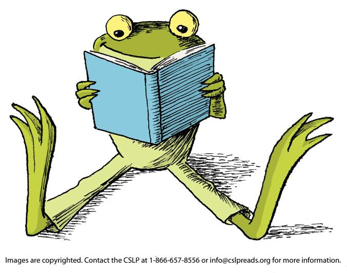 Cartoon Frog Reading - ClipArt Best
