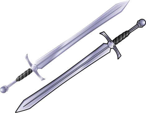 Sword Clip Art, Vector Images & Illustrations