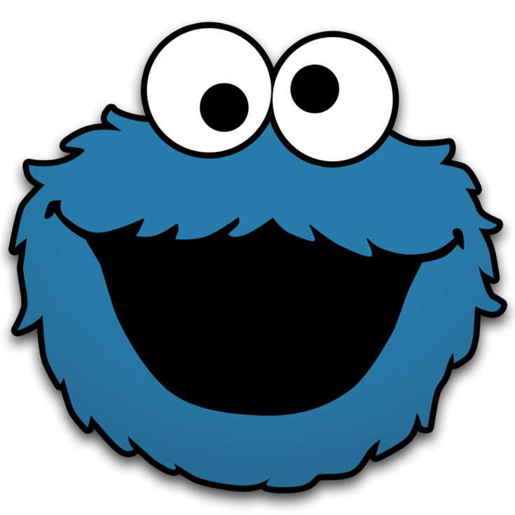 Birthday Cookie Monster Clipart